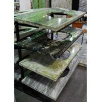 China Multi Color Marble Stone Countertops , Marble Kitchen Worktops Polished / Honed Finishing on sale