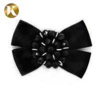 China Hanging Plating Fashion Decorative Shoe Clips Horsehair - Like Bow Shape on sale