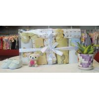 personalised comfy yellow newborn baby gift sets