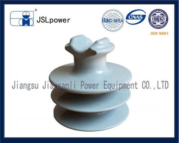 Quality F Neck 35kV Disc And Pin Insulators Tie Top HDPE Insulator With 1 Pin Hole for sale