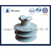 China F Neck 35kV Disc And Pin Insulators Tie Top HDPE Insulator With 1 Pin Hole wholesale