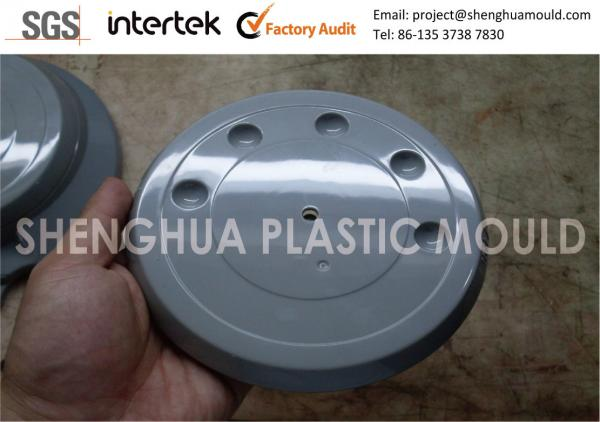 Quality Medical Grade Injection Molded Plastic Parts , Large ABS Plastic Top Cover High Gloss Finish for sale