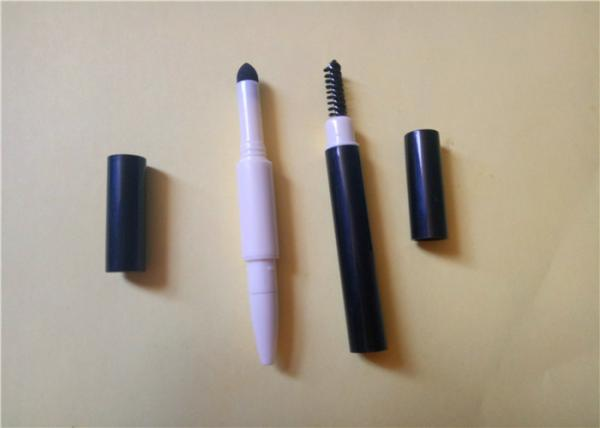 Quality Thick 3 In 1 Auto Eyebrow Pencil  With Sponge / Brush 142.5 * 9.8mm ISO for sale