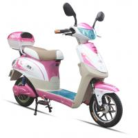 China 350W Pink Adult Electric Scooter , Battery Operated Scooter With 350W - 450W Motor wholesale