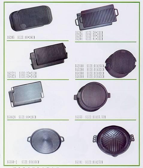 Quality cast iron grill and griddle for sale