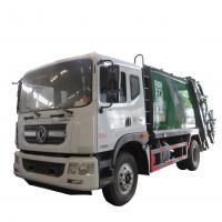 China New dongfeng 4*2 12-14m3 refuse collector solid waste garbage refuse truck for sale, compacted garbage truck for sale wholesale