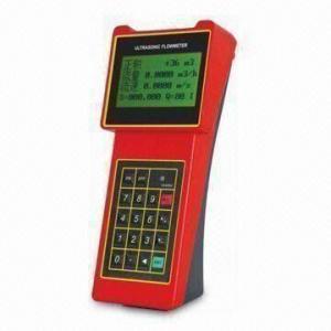 China Handheld Ultrasonic Flow Meter, Used for Measuring Flow of Pipe wholesale