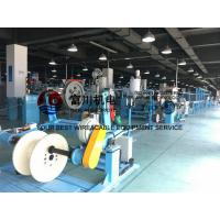 China Fuchuan PU PE PVC Extrusion Machine , BV BVR Wire Extruder Line For Wire Dia 5-20mm wholesale