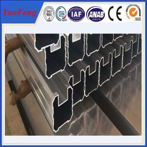 China 6000 series aluminium fence louver profiles / OEM aluminium profile for fence louver on sale