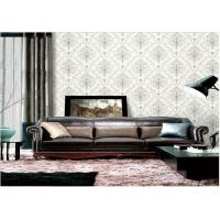 China Removable Embossed Vinyl Wallpaper , Washable Embossed Textured Wallpaper wholesale