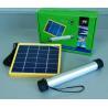 China Quality Flashlight LED solar light with 6V*3W Solar Panels and 3.7V/2000mA*2 lithium battery group capacity (4000mA) wholesale