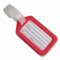 China Luggage Tag, Available in Red, Suitable for Decoration Purposes wholesale