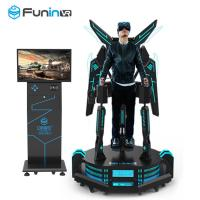 China Excited Standing Up VR Flight Simulator Virtual Reality Simulation Rides wholesale