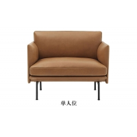 China Leather Fabric Wood Single Double Restaurant Booth Sofa wholesale