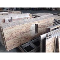 China 40mm Thickness Granite Kitchen Benchtops Beveled Bullnose Ogee Eased wholesale