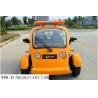China CEE elétrica PP do carrinho de golfe de 48V 2 Seater material para conduzir na estrada legalmente wholesale