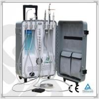 China Portable Dental Unit with led curing light and ultrasonic scaler on sale