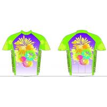 China Custom polyester short sleeve sublimation cycling jersey wholesale