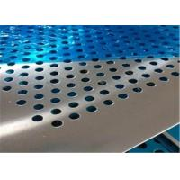 China Professional Design Perforated Metal Mesh Plate Stainless Steel Round Hole wholesale