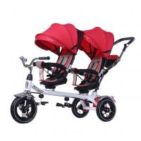 China China Flybaby Twin Tricycle with Two Seats on sale