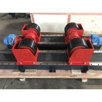 China 480V 10k Tank Turning Rolls With Foot Pedal Switch / Pipe Turning Rollers wholesale