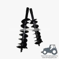 "6""8""9""10""12""14""16""18""20""24"" - Auger for tractor post hole borer"