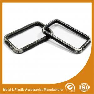 China Букле внутренние аксессуары сумки кольца черного квадрата 49.7С25С5ММ/части сумки wholesale