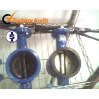China AWWA GROOVED BUTTERFLY VALVES wholesale