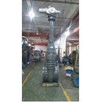 China Flanged End Flexible Wedge Gate Valve , Large Size 2-36 Inch Cast Steel Gate Valve wholesale