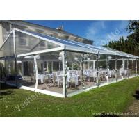 China UV Resistant PVC Fabric Cover Luxury Wedding Marquee Buildings With Aluminum Profile wholesale