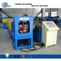 China Professional Steel Galvanized Ridge Cap Roll Forming Machine For Roof Panels wholesale
