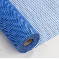 Buy cheap 130g 5*5mm Waterproof and Resistant LENO Woven Fiberglass Mesh Roll from wholesalers