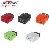 China Bluetooth OBD2 Konnwei Scan Tool Display Graphics Wireless Connection wholesale