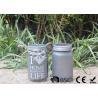 China Le pot de maçon adapté aux besoins du client a mené les lumières solaires, lanterne actionnée solaire de pot de maçon wholesale
