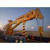 China 4T30M Telescopic Boom Marine Crane Delivered To Saudi Arabia For Oil Supply Vessel wholesale