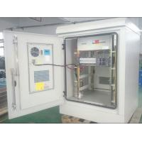 "China ET9090122,19"" Rack Outdoor Telecom Equipment Cabinet With Air Conditioner, Rectifier wholesale"