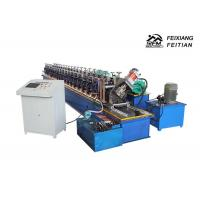 China Column Style Cable Tray Manufacturing Machine / Bracket Frame Roll Forming Machine wholesale