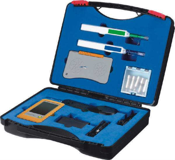 Quality Complete Fiber Optic Cleaning Kits Including A+B Cleaning Pen Cleaning Tape Inspection Probe for sale