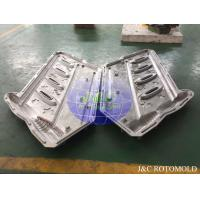 China CNC Machine Processed Aluminum Rotomoulding Moulds For Plastic Handrail Making wholesale