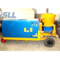 China Tunneling Diesel Power Concrete Spraying Machine By Battery Starting wholesale