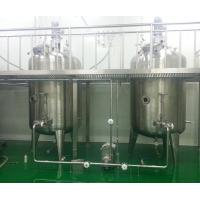 China Electric Heating Stainless Steel Mixing Tanks For Tomato Sauce , Doble Sided wholesale