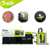 China 700kg / C㎡ Hydraulic Rubber Moulding Machine , 12.1KW Double Injection Moulding Machine on sale
