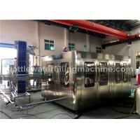 China Glass Bottle Soda Water / Energy Drink Filling Machine / Carbonated Drink Production Line on sale