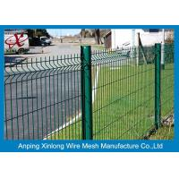 Buy cheap Customized Size Galvanized Welded Wire Mesh Fence Panels 2.2m 2.5mm ISO Listed from wholesalers