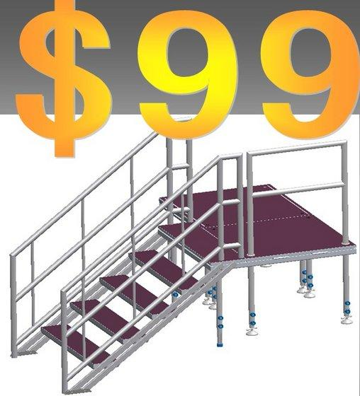 portable outdoor stairs