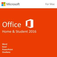 Buy cheap Microsoft Office for Mac Home & Student 2016 License from wholesalers