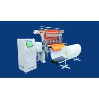 China Professional Computerized Quilting Machines 2 Needle Row For Winter Wear Pajamas on sale