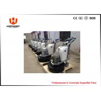Wet And Dry Use Commercial Concrete Grinder , Concrete Floor Grinding Equipment