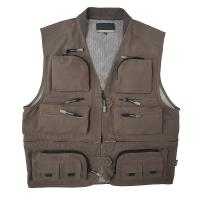 China N/T Reticulation Peach Fishing Vest wholesale
