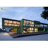 China Expandable Prefab Modular Container Housing Steel Frame Building wholesale